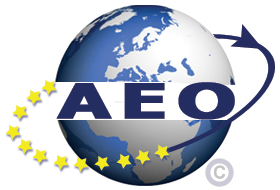 AEO (Authorised Economic Operator) Zugelassen - Logo